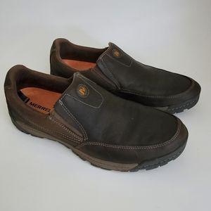 Merrell Traveler Brown Slip On Shoe Size 10.5
